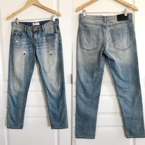 One Teaspoon Distressed Awesome Baggies Jeans